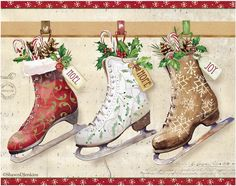 Shawn D Jenkins Licensed Art: Fall Christmas Spring Summer and Everyday