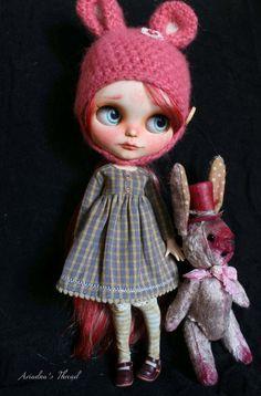 Lorena. OOAK Custom Blythe Puppe.