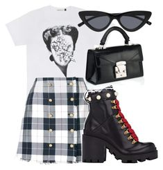 """""""STYLISH"""" by directioner91 ❤ liked on Polyvore featuring Thom Browne and Gucci"""