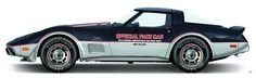 Photo Courtesy: Terry McGean 1978 Chevrolet Corvette Pace Car Replica