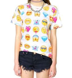 EMOJI EMOCTION Funny Face Tee | T-shirt M/L/XL
