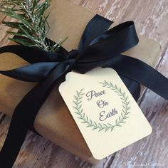 Free Printable Holiday Tags | The Casual Craftlete #Christmas #Printabletags #Holidays #wrappingideas #gifttags
