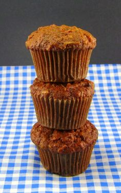 One Perfect Bite: Morning Glory Muffins - Blue Monday, sub one cup of zucchini for one of the cups of carrots