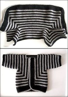 Miso Crafty: Baby Surprise Jacket by Elizabeth Zimmermann