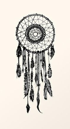 Dreamcatcher drawing//
