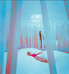 Ernesto Neto  Is it weird that I think this is really cool??