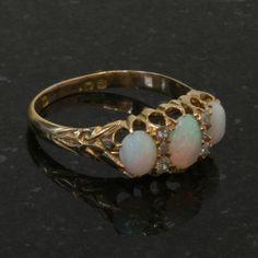 Buy Edwardian antique opal and diamond ring, Sold Rings Sydney ...1400 x 1400   196.1 KB   www.kalmarantiques.com.au