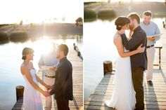 Wedding by the water! Cameron Ingalls, San Luis Obispo wedding photographer.