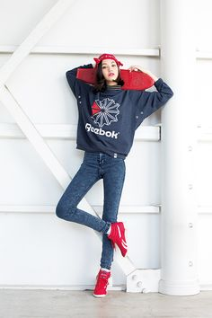 Kiko Mizuhara for Reebok Classic SS2014 Always... - Fashioninspirasians.com - Asian Fashion Source