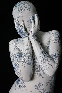 China Doll by suya_zentai, via Flickr