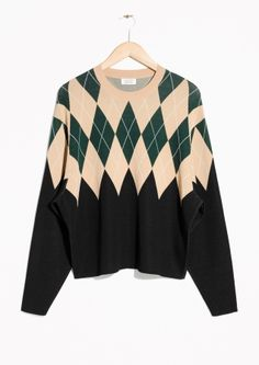 & Other Stories | Argyle Sweater