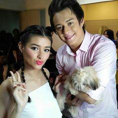 LizQuen Filipino Baby, Ranz Kyle, Lisa Soberano, Enrique Gil, Couple Goals Teenagers, Filipina Beauty, Marchesa, Hashtags, Relationship Goals