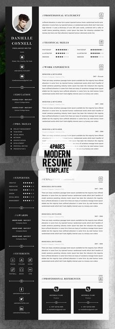 Free-Creative-Resume-Template-in-PSD-Format … | Template…