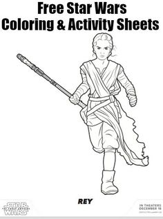 Star Wars The Force Awakens Coloring Sheets