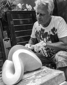 Jan van der Laan at work,  august 2016