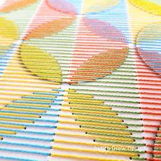 Embroidered Paper, Paper Embroidery, Embroidery Stitches, Embroidery Patterns, Doily Patterns, Dress Patterns, Stitching On Paper, Labor, Embroidery Techniques