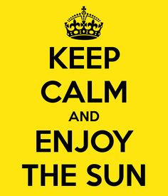 ☯☮ॐ American Hippie Keep Calm ~ Sun