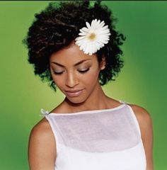 bridal hairstyles for short afro hair 4