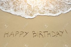Beach Happy Birthday Stock Photos. Royalty Free Beach Happy ...