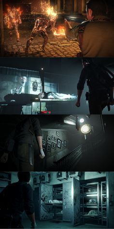 New stills from The Evil Within 2.
