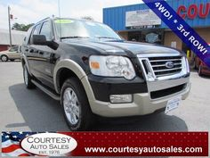 2008 FORD EXPLORER -- EDDIE BAUER Edition!  -- POWER Folding 3rd ROW Seats! -- Clean CAR-FAX! -- Price INCLUDES A 3 MONTH/3,000 Mile WARRANTY! -- CALL TODAY! * 757-424-6404 * FINANCING AVAILABLE! -- Courtesy Auto Sales SPECIALIZES In Providing You With The BEST PRICE On A USED CAR, TRUCK or SUV! -- Get APPROVED TODAY @ courtesyautosales.com * Proudly Serving Your USED CAR NEEDS In Chesapeake, Virginia Beach, Norfolk, Portsmouth, Suffolk, Hampton Roads, Richmond, And ALL Of Virginia SINCE…