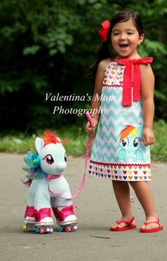 similar to New and Exclusive Design from My little pony Rainbow Dash inspired pillowcase dress on EtsyItems similar to New and Exclusive Design from My little pony Rainbow Dash inspired pillowcase dress on Etsy Fiesta Little Pony, My Little Pony Cumpleaños, Little Poney, Fiesta Rainbow Dash, My Little Pony Birthday Party, 5th Birthday, Frozen Birthday, Girls Boutique, Cute Girl Outfits