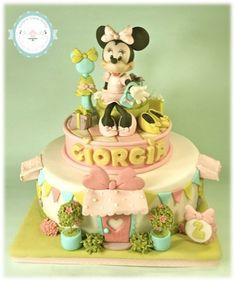 minnie boutique! - by tortediivana @ CakesDecor.com - cake decorating website