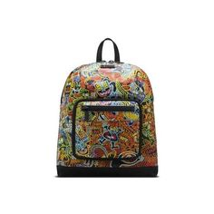 Dr. Martens Wigan Small Slouch Backpack (5 690 UAH) ❤ liked on Polyvore featuring bags, backpacks, kaboom print multi, slouchy backpack, knapsack bags, pattern backpack, rucksack bag and slouch backpack