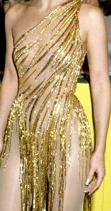 Bob Mackie Gold for Cher