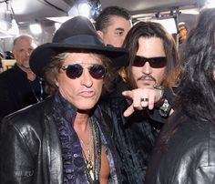 Joe Perry & Johnny Depp