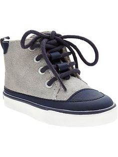 Sherpa-Lined High-Tops for Baby