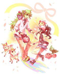cherry blossom n pokemon