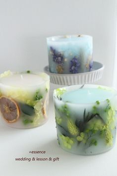 Gel Candles, Natural Candles, Candle Jars, Candle Holders, Candle Making Business, Essential Oil Candles, Candle Diffuser, Homemade Candles, Diy Spa