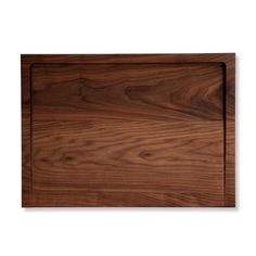 Designed with the modern city-dweller in mind, the Host Board is crafted from American walnut and functions as both a cutting and serving board. Perfect for the family-style recipes from Host. Size: 1