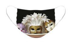 #facemask #newnormal #reusablemask #facemasksuniquestyles #artisticfacemasks #facemaskfashion #beautifulfacemask #prettyfacemask #mask  #protectyourself #protectyourfamily #polyester #reusable #washable #masquerade Venetian Carnival Masks, Unique Faces, Masks Art, Masks For Sale, Mask Design, Basic Colors, Masquerade, Color Show, Face Masks