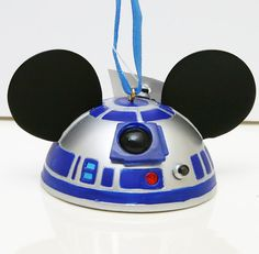 Disney Christmas Ornament Mickey Mouse Ears Hat R2D2 Star Wars Le | eBay