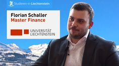 Master in Finance an der Universität Liechtenstein studieren