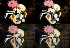 fairy tail natsu and lucy. OMFG MY DREAM!! It may be fake obviously but...SHIP SHIP SHIP <3