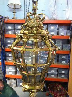 1000 images about lamparas de cristal restauracion y - Venta de lamparas antiguas ...