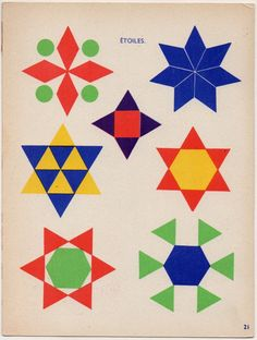 Padrões geométricos: estudos  [ 1158 ]