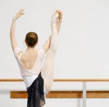 make your own ballet barre for home.