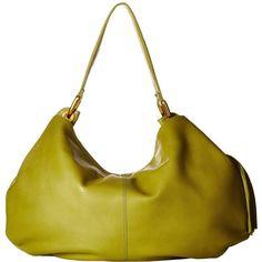 Hobo Axis (Moss) Handbags ($268) ❤ liked on Polyvore featuring bags, handbags, shoulder bags, hobo purses, white handbags, man bag, hobo shoulder handbags and white shoulder handbags