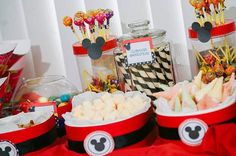"""Photo 1 of 52: Mickey Mouse / Birthday """"It's Damian John's 1st Birthday Party"""" 
