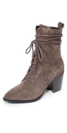 Sigerson Morrison Duran Lace Up Booties | SHOPBOP