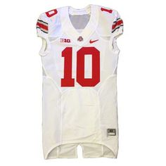 2013 Authentic Ohio State White Nike Football Jersey
