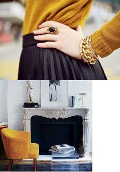 10 Rooms: saffron, mustard, gold: feeling warm yellows