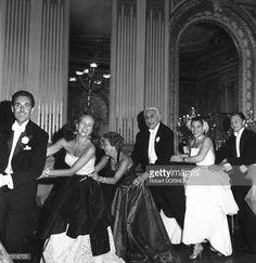 Ball Count And Countess Etienne De Beaumont June 19, 1950 Photo d'actualité | Getty Images