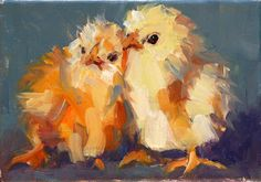 Carol Carmichael Paints: birds of a feather