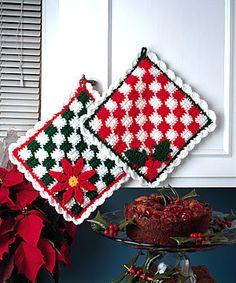 Talking Crochet ... Checkered Hot Mats http://promotions.drgnetwork.com/newsletters/talkingcrochet/pages/TCNL2607_patt.html