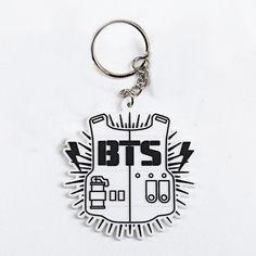 BTS / Bangtan Boys A.R.M.Y Logo Key Ring Chain